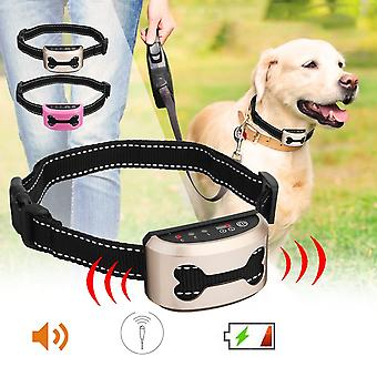 Waterproof Pet Dog Rechargeable Anti Bark Training Control Collar