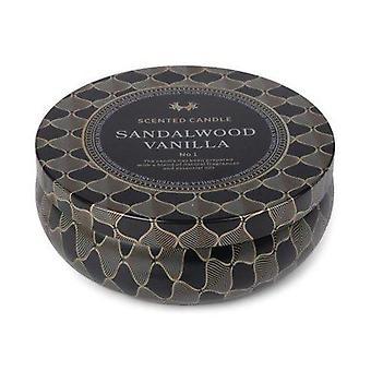 Vela perfumada Sandelwood Lata de Baunilha