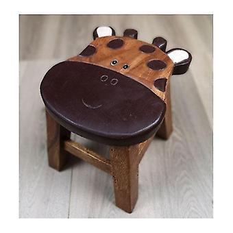 Copii scaun de lemn Girafă