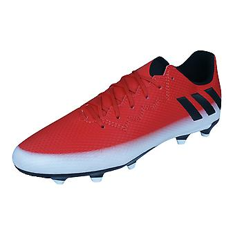 Ragazzi adidas Firm Ground Football Boots Messi 16,3 FG - rosso
