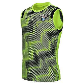 2020-2021 Lazio Sleeveless Training Shirt (Geel)