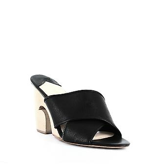 Isa Tapia | Lead Sculpted Wedge Mules