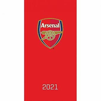Arsenal Pocket Dagboek 2021