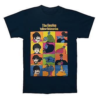 The Beatles Keltainen Sukellusvene Sub Characters Navy T paita