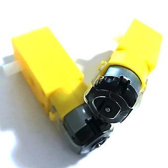 2pcs Tt Motor 130motor Smart Car Robot Gear Motor Dc3v-6v Dc Gear Motor