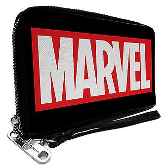Marvel Universe Logo Zip Around Wallet
