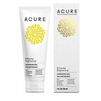 Acure Facial Cleansing Gel, 4 Oz