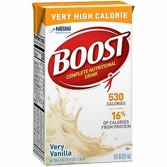 Nestle Healthcare Nutrition Oral Supplement Boost VHC Very Vanilla Flavor 8 oz. Container Carton Ready to Use, 1 Each
