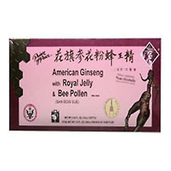 Prince Of Peace American Ginseng, Royal Jelly With Bee Pollen, 10x10 Cc