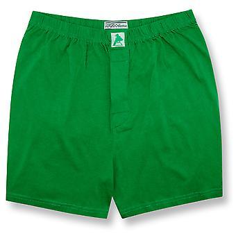 Biagio Men's Solid BOXER 100% Knit Cotton Shorts