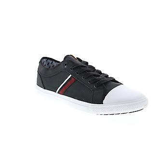 Ben Sherman Brayson Oxford  Mens Black Canvas Lifestyle Sneakers Shoes