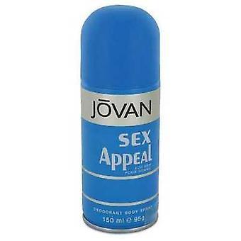 Sex Appeal Por Jovan Deodorant Spray 5 Oz (hombres) V728-543389