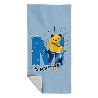 Sooty M Is For Magic Beach Towel
