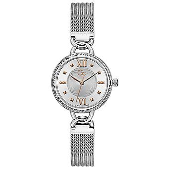 Gc watches cable twist watch for Women Analog Quartz with stainless steel bracelet Y67001L1MF