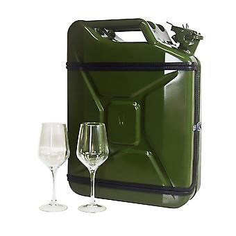 Wine bar, Jerrycan 20 L - Green
