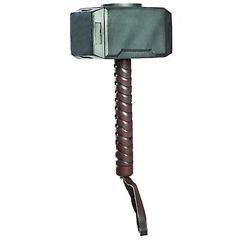 Rubie's official child's marvel avengers assemble thor hammer, one size, multi-coloured