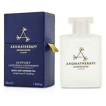 Support - Lavender & Peppermint Bath & Shower Oil 55ml or 1.86oz