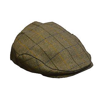Walker and Hawkes - Uni -Sex Flat Cap Tweed Material