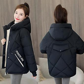 Winter Women Casual Thicken Warm Padded Jackets Coat