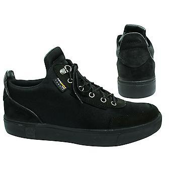 تيمبرلاند Amherst عالية أعلى قماش الدانتيل الأسود حتى الرجال تشوككا الأحذية A1OUC B*