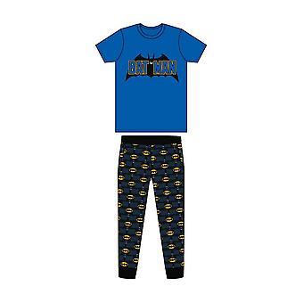 Batman Mens Bat Signal Pyjamas à manches courtes