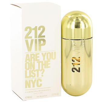 212 Vip Eau De Parfum Spray Carolina Herrera 2,7 oz Eau De Parfum Spray