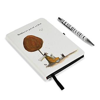 Sam Toft Sometimes We Just Sit and Think Notebook Set