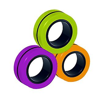 Stress Relief Magnetic Rings Fidget