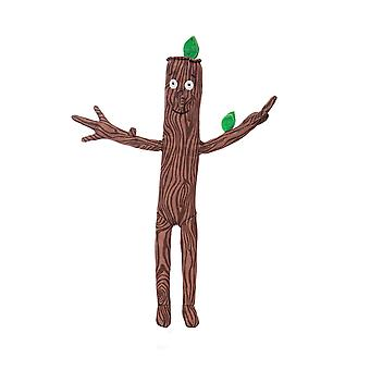 Aurora stick man stickman soft toy, 60573, character, brown, 13in, as seen in the gruffalo series