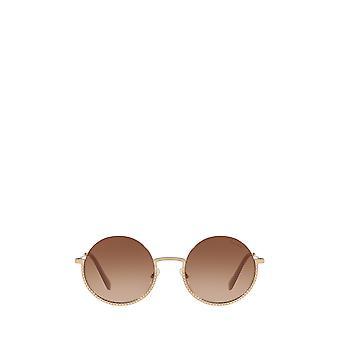 Miu Miu MU 69US gafas de sol femeninas de oro pálido