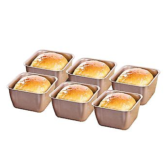 Non-stick Mini Loaf Tin Square Cake Pan Dessert Mould