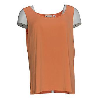 Linea Por Louis Dell'Olio Women's Top Knit Tank Naranja A304658