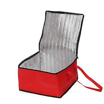 """19"""" Waterproof Insulated Folding, Picnic Food Thermal Bag For Food Delivery/"""