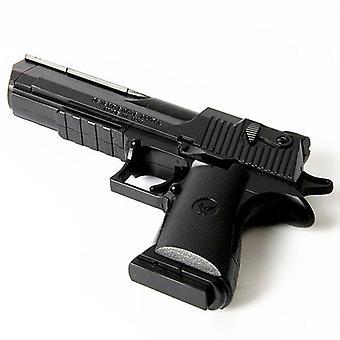 Plastic Desert Eagle Toy Gun Assembly Pistol Weapon Air Model Diy Puzzle Block