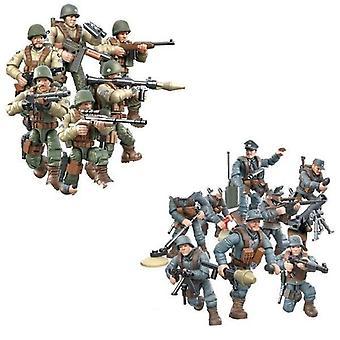 1:35 Escala Batalla Militar de la Guerra Mundial de Renania, Figuras de Acción del Ejército