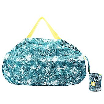 Reusable Grocery Shopping Bags Foldable into Pouch Washable Durable Eco Friendly Storage Bags
