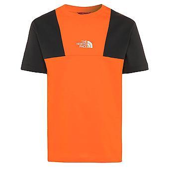The North Face Yafita Kids Fashion Casual T-Shirt Top Tee Orange