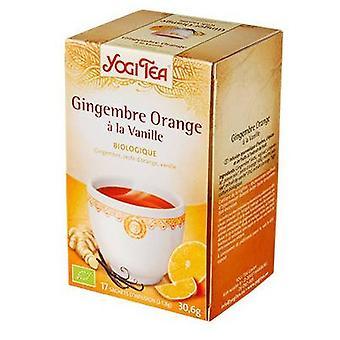 Yogi Te Ginger-Orange och Vanilj 17 Ekologiska Påsar