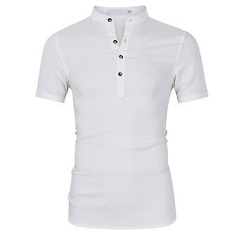 يانغفان الرجال & apos;ق عارضة ضئيلة قميص قصير الأكمام