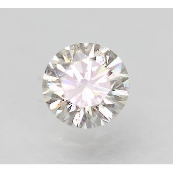Certificado 0.52 Quilates F VS2 Redondo Brillante Diamante Suelto Natural Mejorado 5.18mm