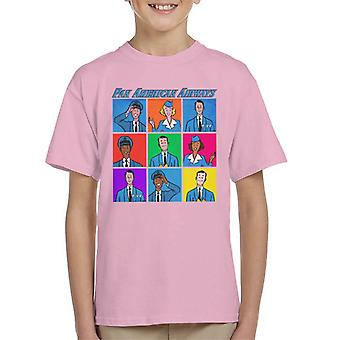 Pan Am Flight Crew Kid's Camiseta