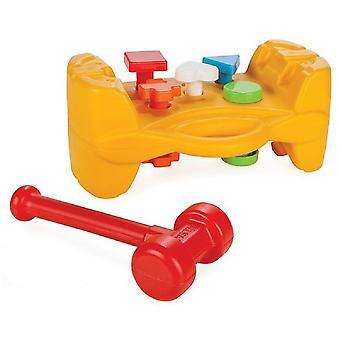 Pilsan 03272 hammare spela från 10 månader, motorik, färgglada former, hammare