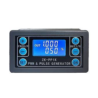 Zk-pp1k pwm pulssi taajuus duty cycle säädettävä moduuli neliöaalto suorakulmainen aalto signaali toiminto generaattori