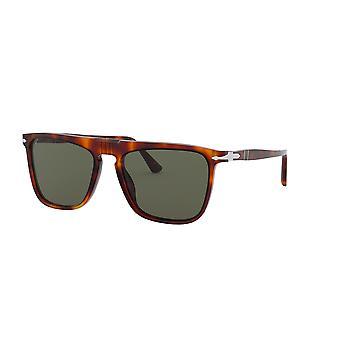 Persol PO3225S 24/31 Havana/Green Sunglasses