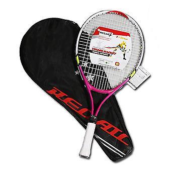 Newly Kids Junior Sports Tennis Racket Aluminum Alloy Pu Handle Nylon Wire