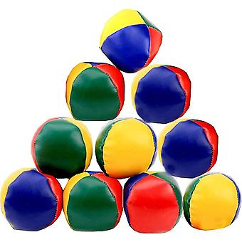 HanFei Jonglierblle, 12PCS Jonglierball Set Lustige Pdagogische Jonglierblle zum Ballspielen