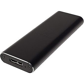 FengChun IB-183M2 ExterneGehäuse für 1x M.2 SSD B-Key B+M-Key (22 x 30/42/60/80 mm), USB 3.0