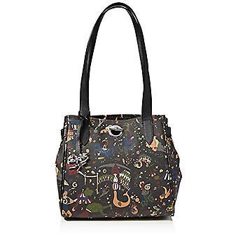 piero guidi Tote Bag, Women's Handbag, Black (Black), 27x24x16 cm (W x H x L)