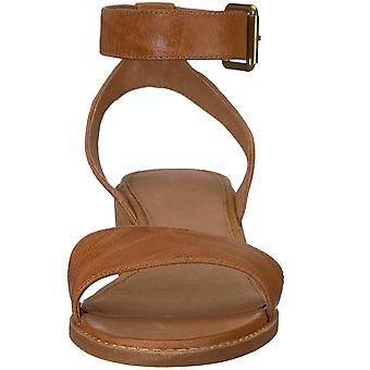 Frye Womens Cindy 2 Piece Leather Open Toe Casual Ankle Strap Sandals