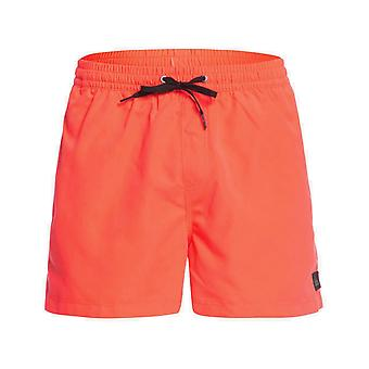 Quiksilver Everyday volley 15 elastiska Boardshorts i eldig korall